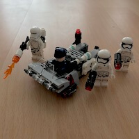 LEGO Set 75166-1 - First Order Transport Speeder Battle Pack