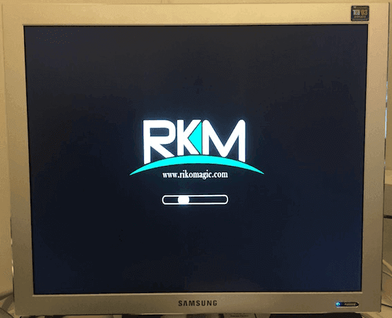 Rikomagic MK06 finally booting again