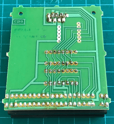 PCB of the RAM Joystick Interface