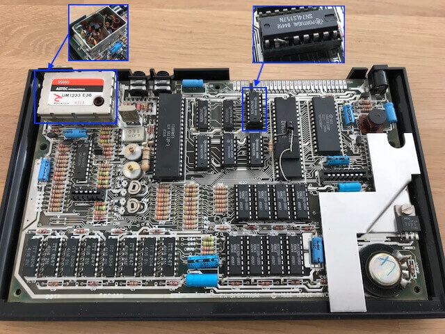 ZX Spectrum motherboard issue 2